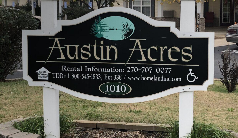 Austin Acres Sign