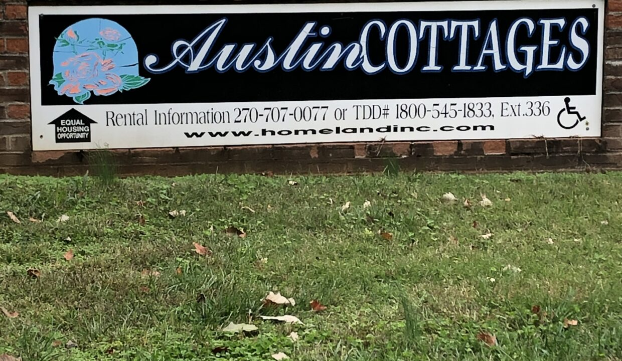 Austin Cottages sign