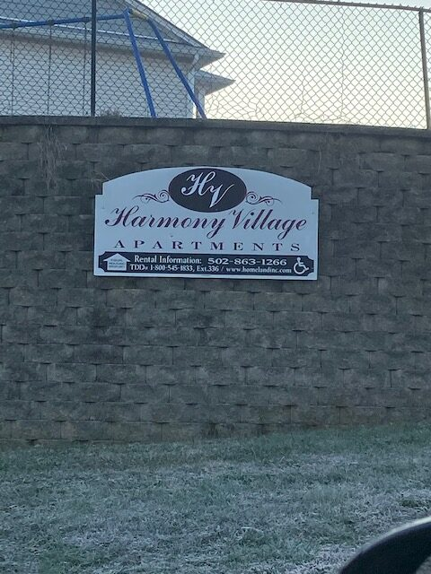 Harmony Village Sign 2