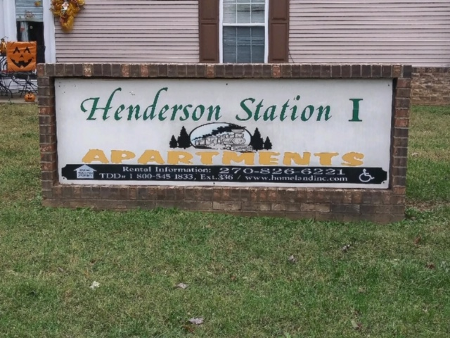 Henderson Station Sign